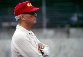 Paul Newman/Newman-Haas Indy Cars/Nigel Mansell & Mario Andretti driving